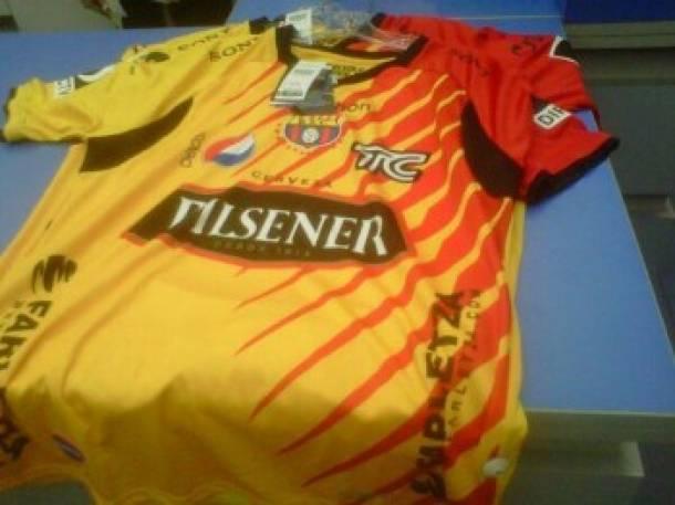 FOTO: Camiseta de BSC para la Copa Sudamericana 2013