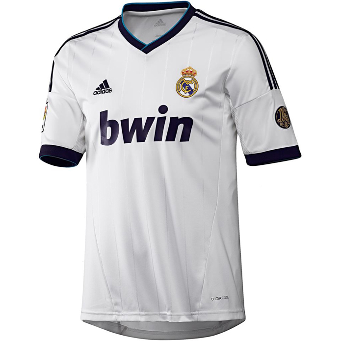 La camiseta 2012-2013 del Real Madrid, al descubierto