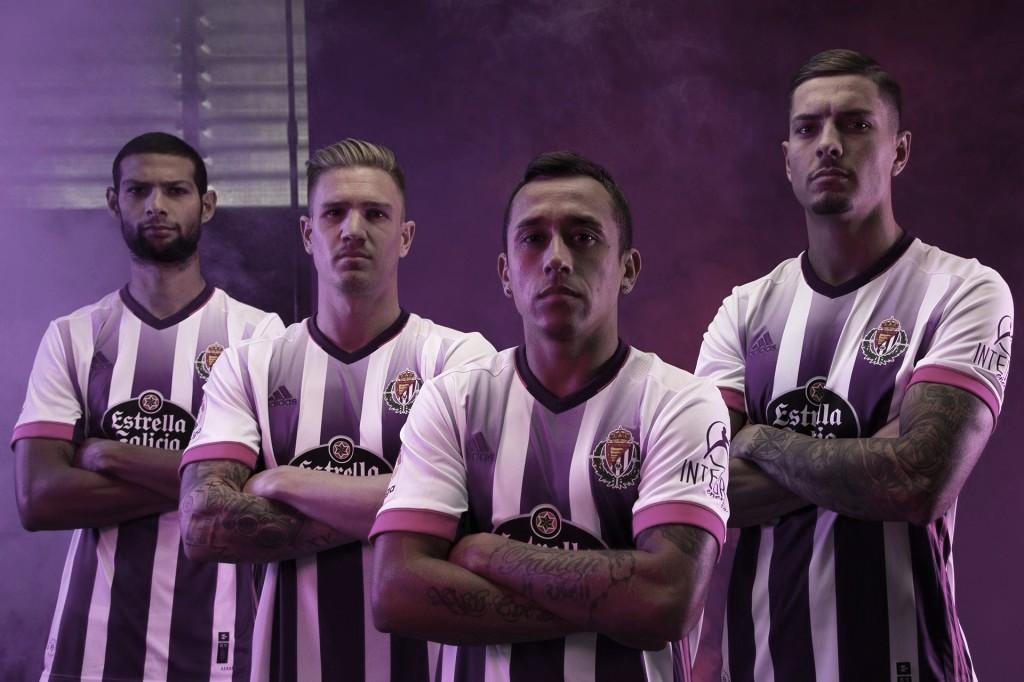 ¡Ya están las nuevas equipaciones del Real Valladolid!