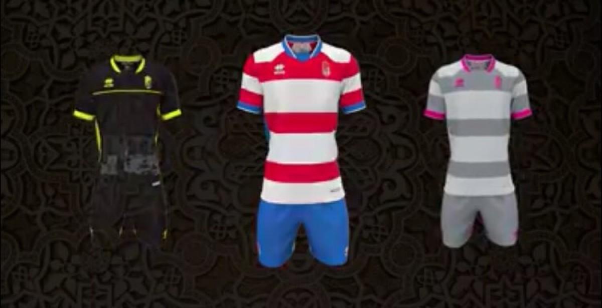 Se filtran los diseños de las nuevas camisetas del Granada CF 2018/19