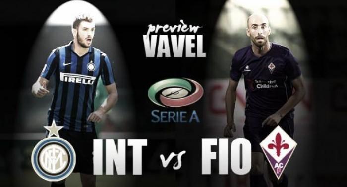 Previa Inter - Fiorentina: cuando un triunfo lo puede cambiar todo