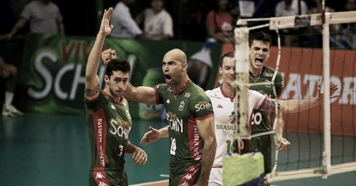 Em casa, Campinas vence Taubaté e força terceiro jogo na semifinal da Superliga