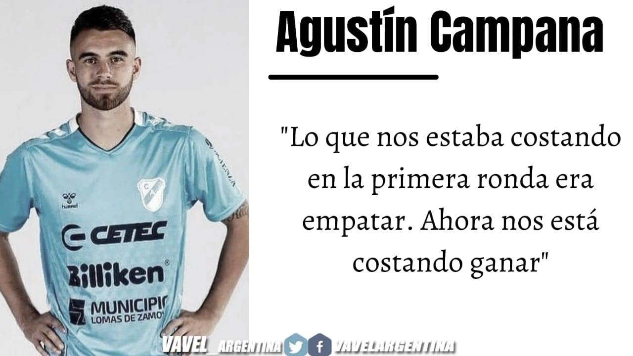"""Agustín Campana: """"Me fui muy enamorado de la gente"""""""