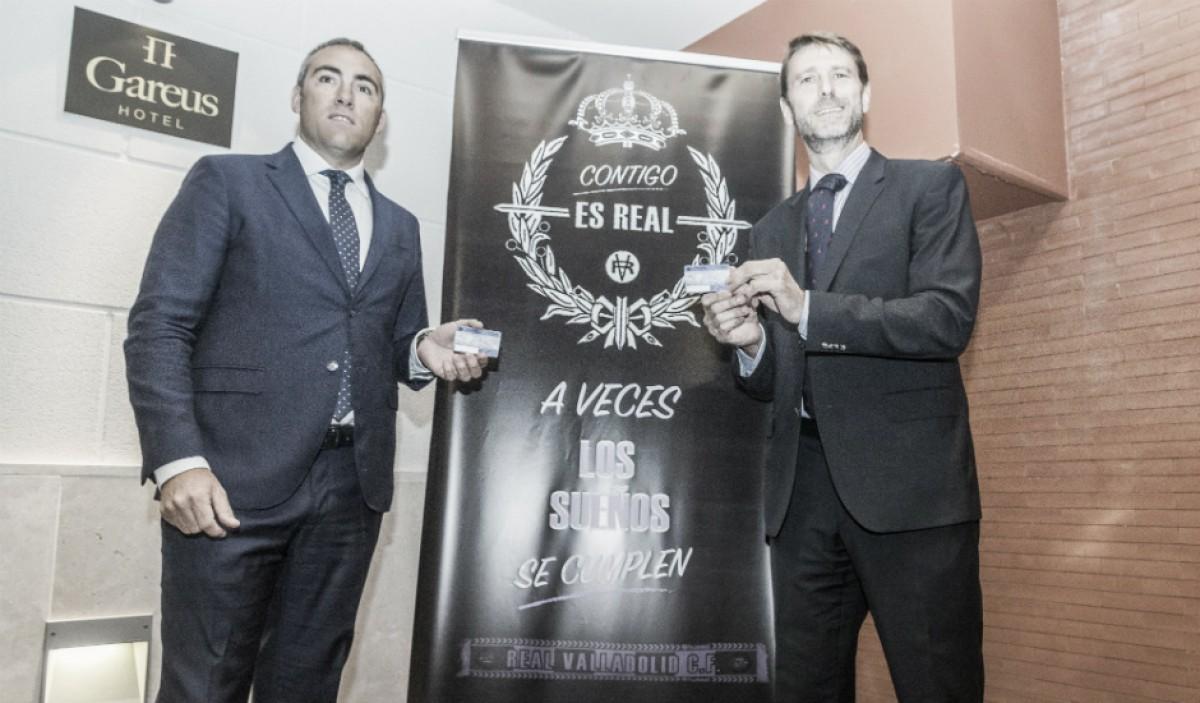 El Real Valladolid presenta su campaña de abonados