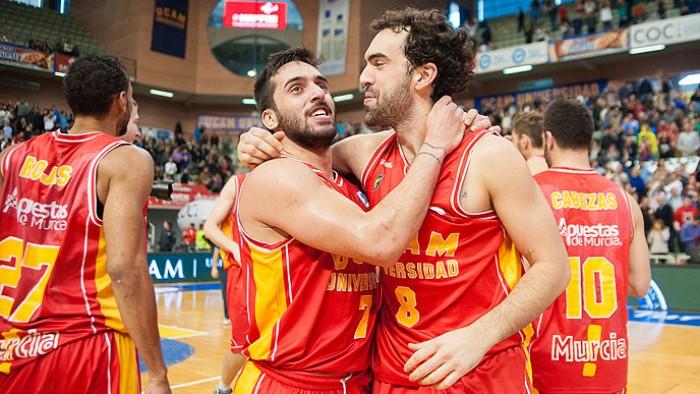 El UCAM Murcia, primera piedra en el camino hacia el título liguero