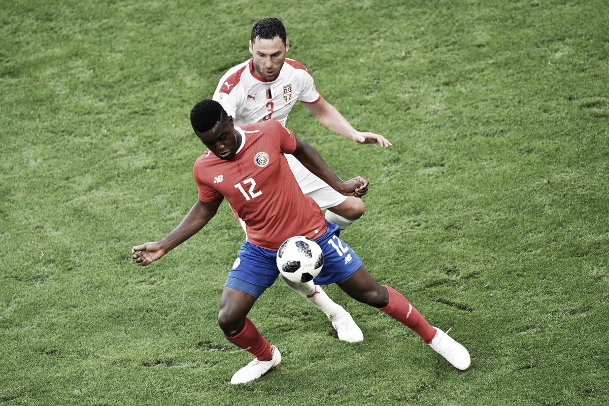Joel Campbell no fue suficiente para Costa Rica