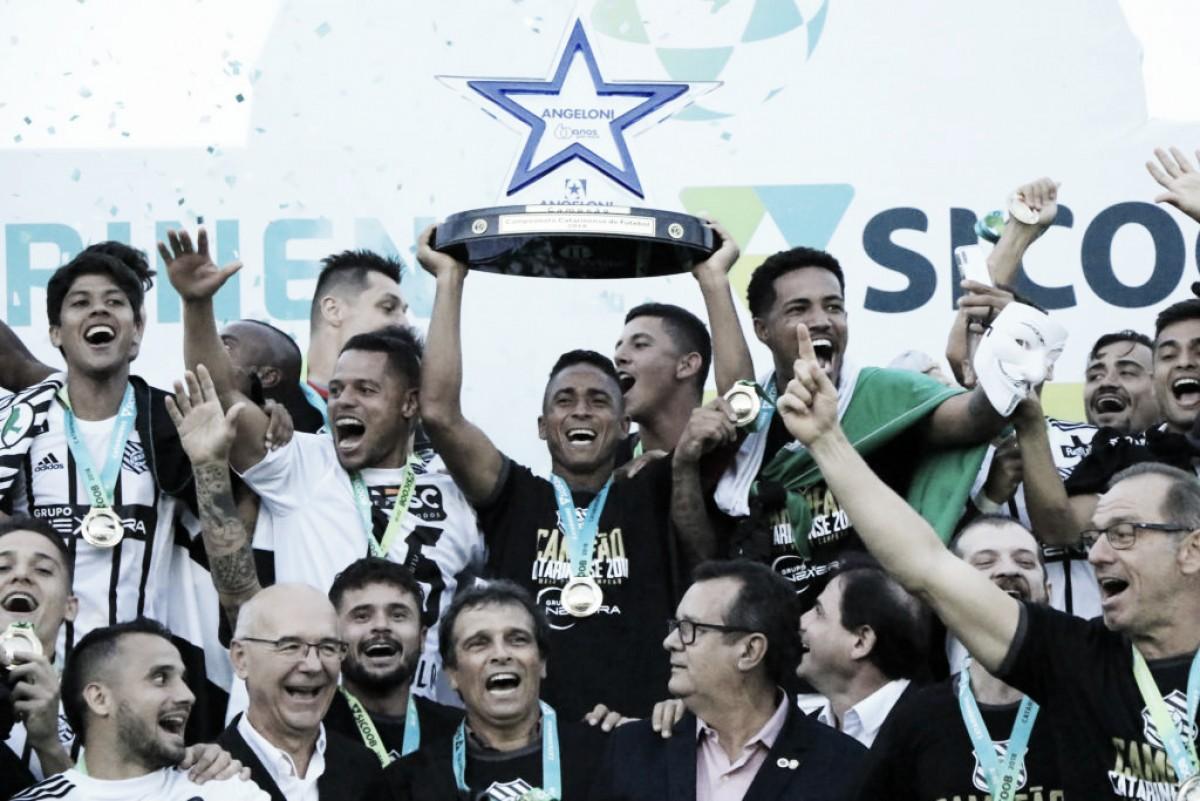 Figueirense tira invencibilidade da Chapecoense na Arena Condá e fica com título catarinense