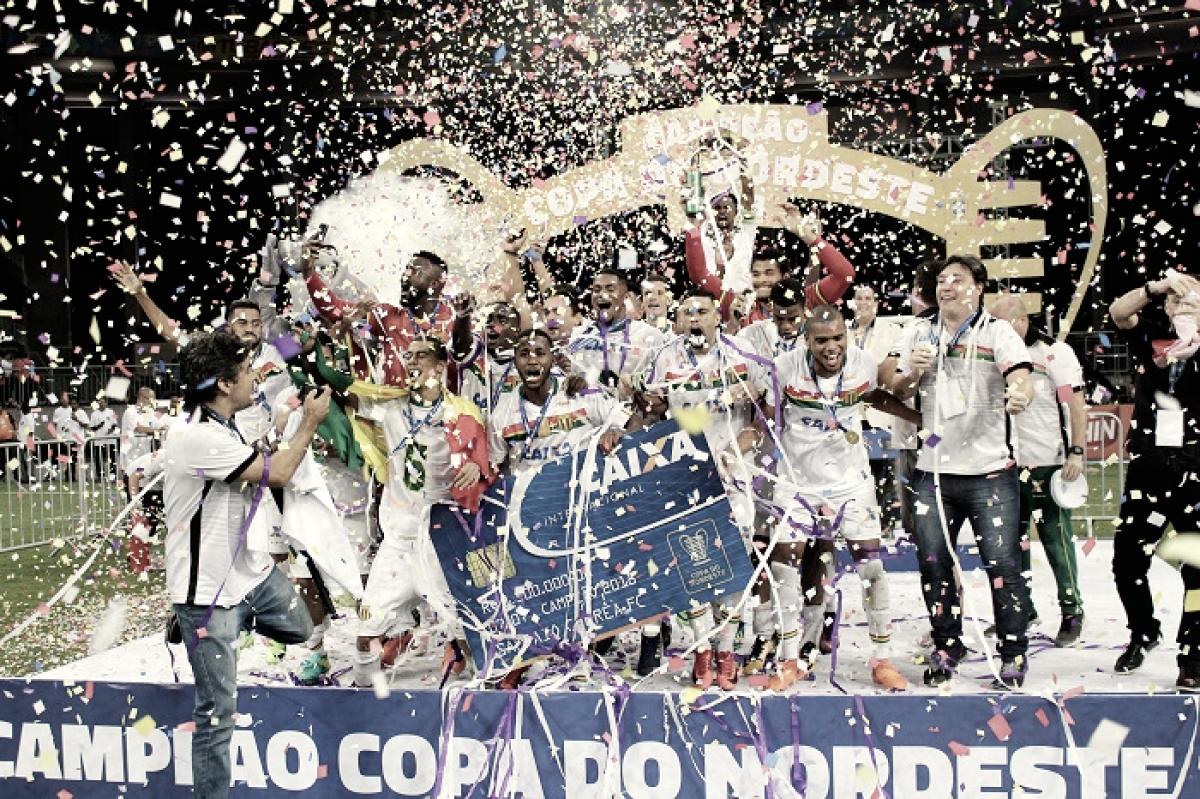 É campeão! Sampaio Corrêa segura Bahia e conquista Copa do Nordeste