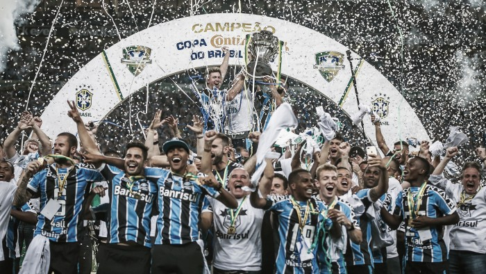 Grêmio reassume liderança do ranking de clubes da CBF ao conquistar Copa do Brasil