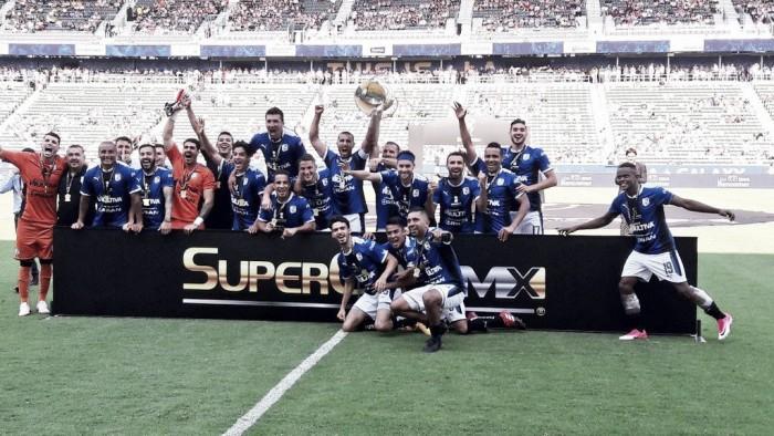 Gallos 'picotea' al América y se queda con la SuperCopa MX