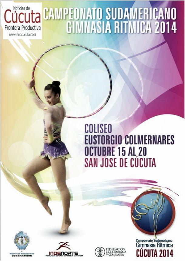 La Gimnasia Rítmica se toma la ciudad de Cúcuta