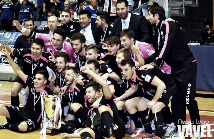 Santiago Futsal conquista su séptimo trono gallego ante Burela FS Pescados Rubén