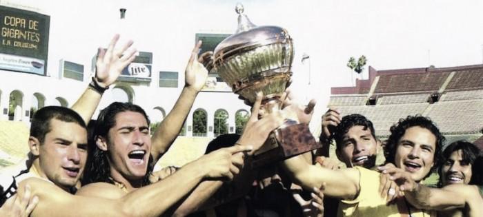 Hace 16 años, América campeón de la copa gigantes de la CONCACAF