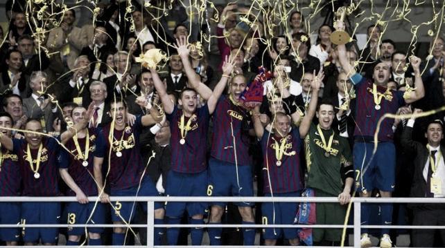 El FC Barcelona Alusport, campeón de Europa tras vencer al Dínamo Moscú