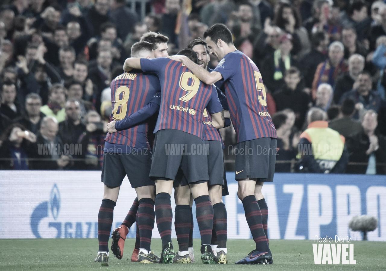 Messi da la Liga al Barça