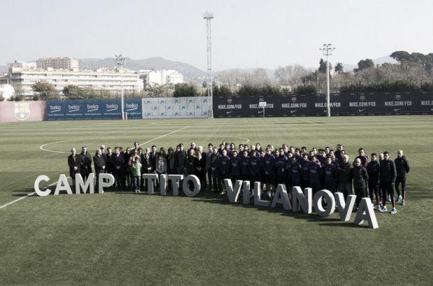 Barcelona inaugura campo Tito Vilanova