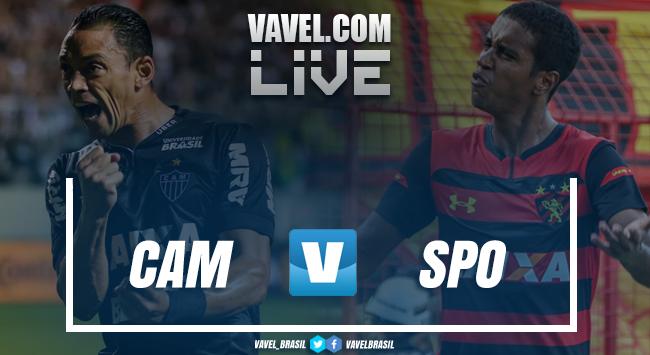 Resultado Atlético-MG x Sport AO VIVO online pelo Campeonato Brasileiro 2018 (5-2)