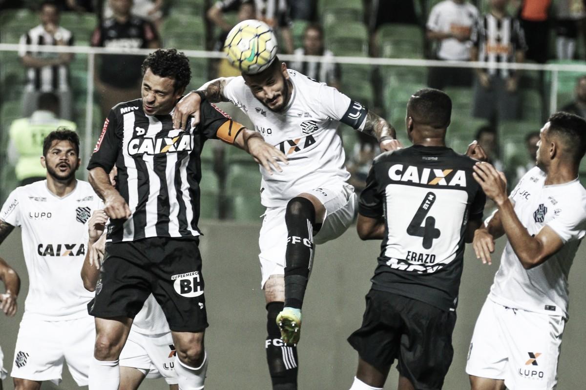 De luto, Atlético-MG recebe Figueirense para buscar classificação na Copa do Brasil