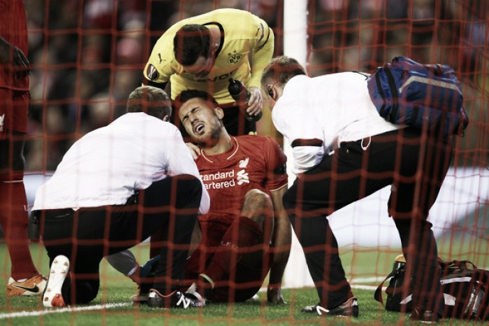 Emre Can to miss between four and six weeks after scans reveal ankle ligament damage