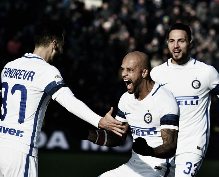 Gabigol entra nos acréscimos, Felipe Melo é expulso e Inter derrota Sassuolo fora de casa