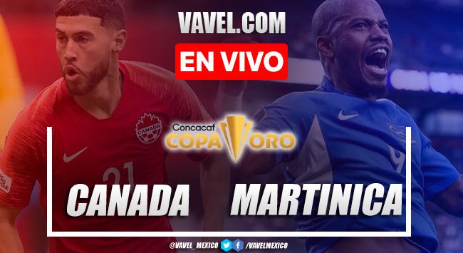 Goles y resumen del Canadá 4-1 Martinica en Copa Oro 2021