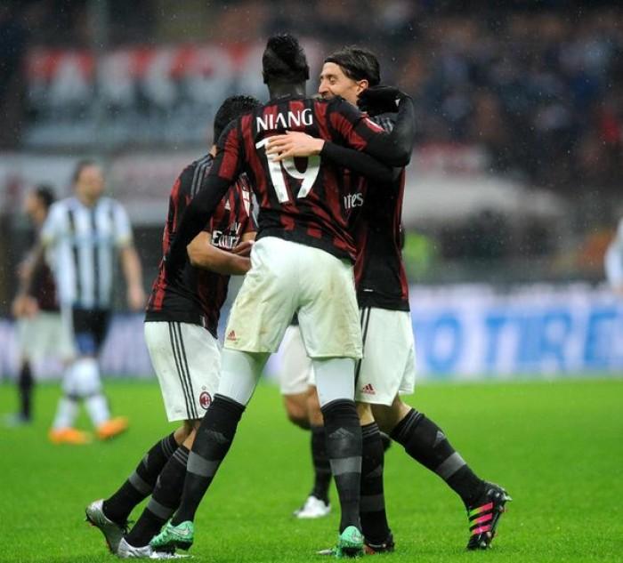 Il Milan frena in casa con l'Udinese: 1-1 a San Siro