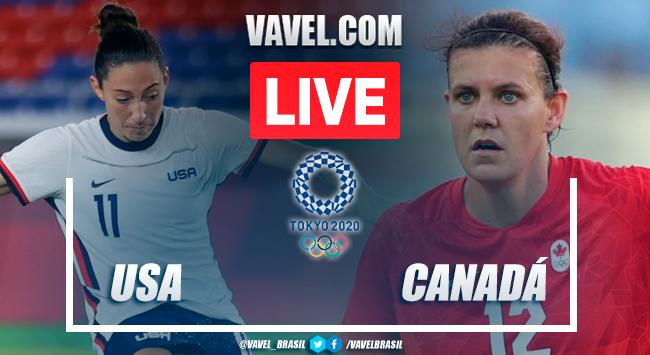 Gols e melhores momentos Estados Unidos x Canadá pelas Olimpíadas de Tóquio (0-1)