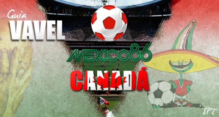 Guía VAVEL Mundial México 1986: Canadá