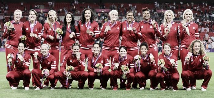 Rumo à Olimpíada: seleção feminina de futebol do Canadá