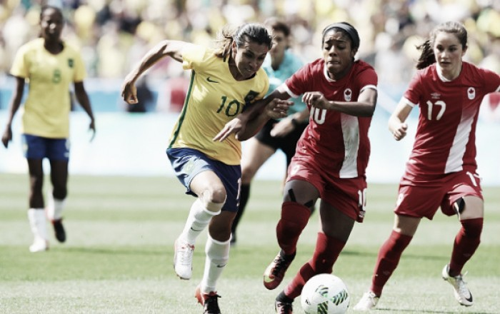 Na disputa pelo bronze, seleção feminina perde por 2x1 para o Canadá