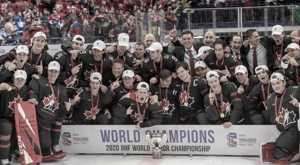 Canadá remonta en los últimos 10 minutos y gana la Copa del Mundo Júnior a Rusia