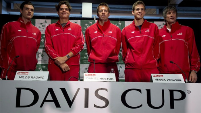 Canada Names Full-Strength Squad for Davis Cup