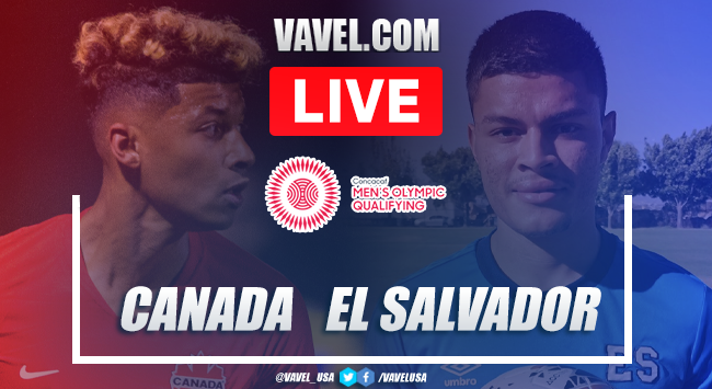 Goals and Highlights of Canada 2-0 El Salvador on Men's Olympic Qualifying 2021