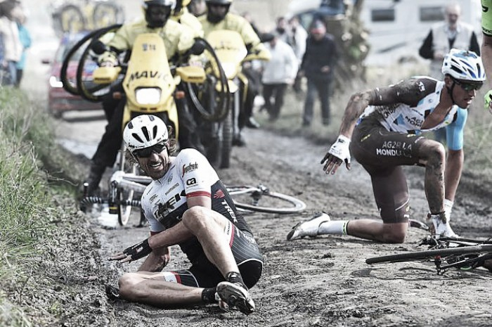 Fabian Cancellara relieved Paris-Roubaix is over