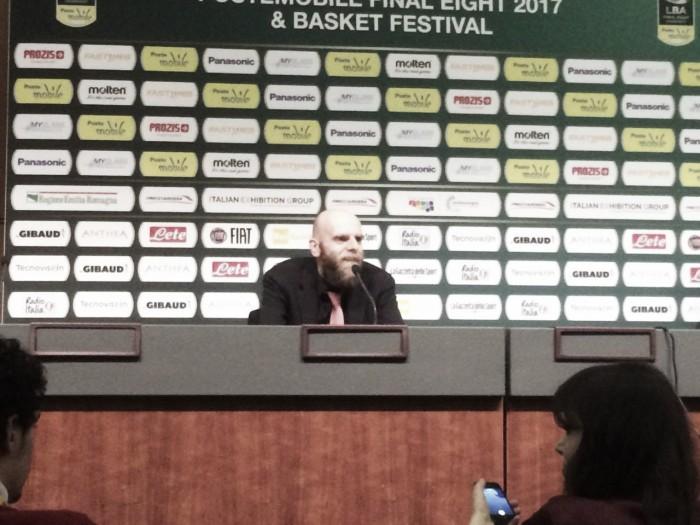 Final Eight - Milano è in finale, Cancellieri elogia squadra e staff in conferenza stampa