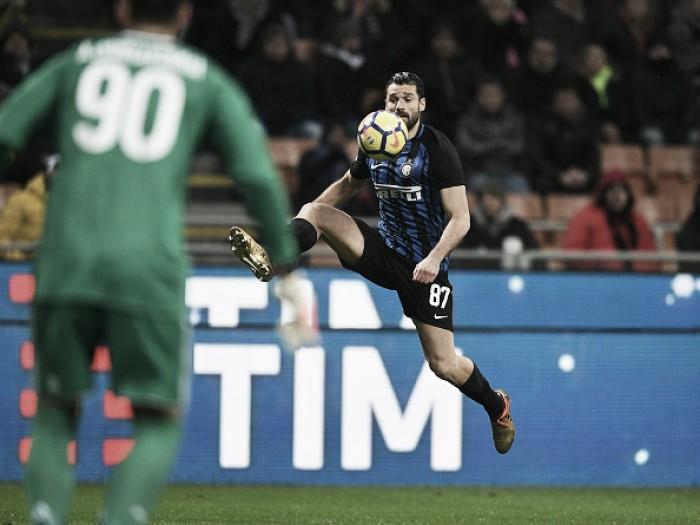 Candreva admite 'moral baixa' da Internazionale após eliminação para Milan na Copa Itália