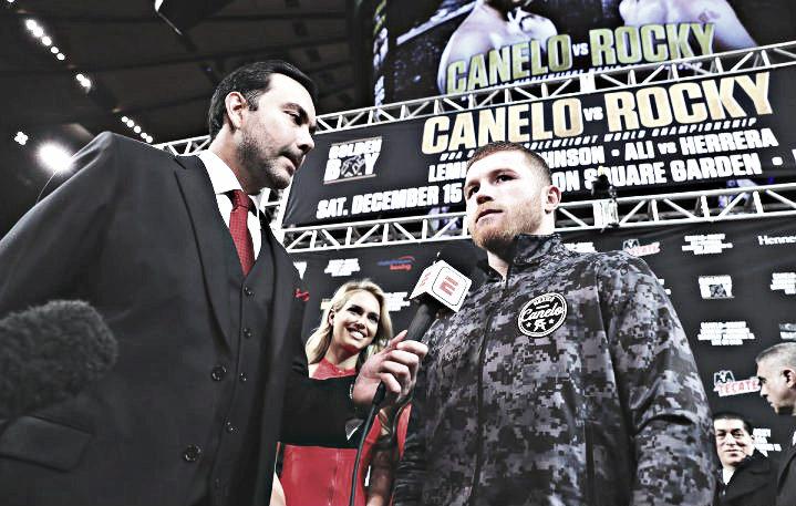 Canelo podría enfrentarse al ganador de Andrade vs. Saunders en septiembre