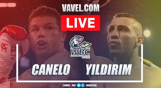 Highlights and best momentos of Canelo Alvarez's victory over Avni Yildirim in Box 2021