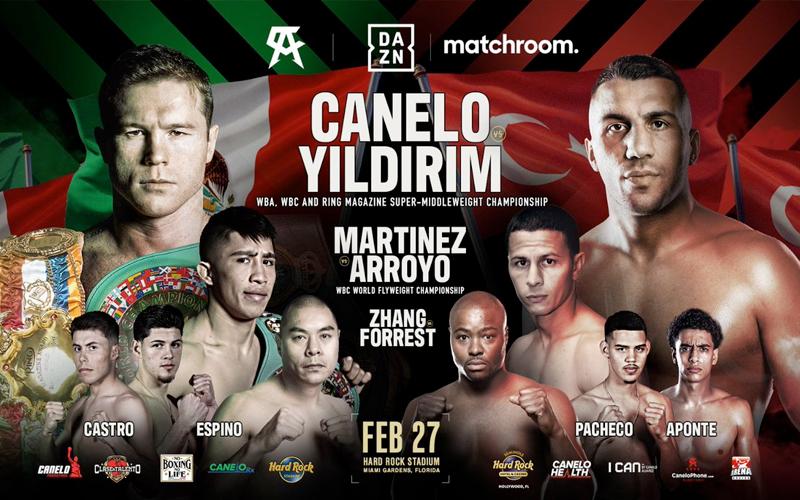 Canelo vs Yildirim: Matchroom Boxing Preview