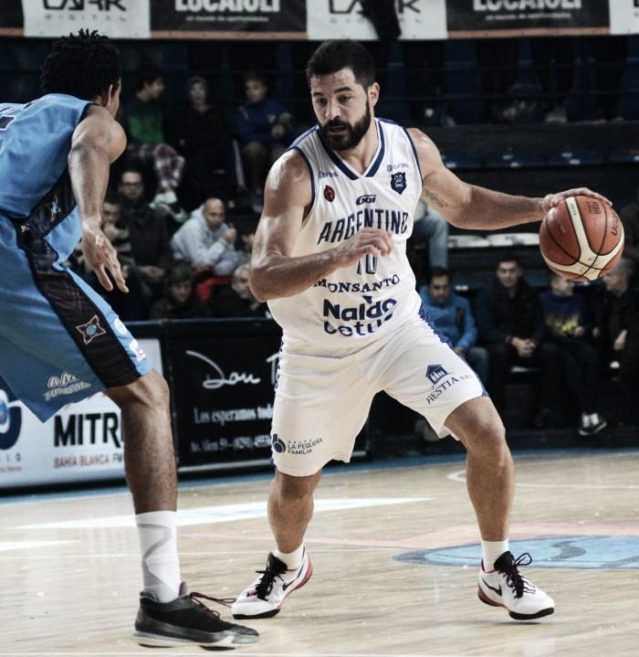 Argentino dio el primer golpe en la serie