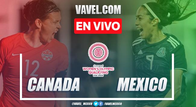 Resumen y goles: México 0-2 Canadá, Preolímpico CONCACAF 2020