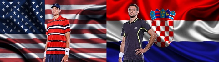 Copa Davis: Estados Unidos buscam confirmar favoritismo contra a Croácia