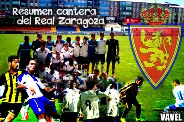 Resumen categorías inferiores del Real Zaragoza: 13-14 de diciembre