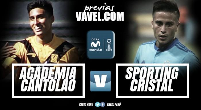 Previa Academia Cantolao -Sporting Cristal: Un lavado de cara para no perder la vista