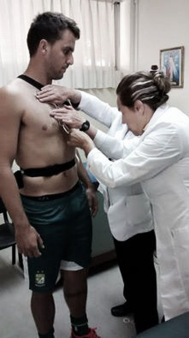 Ignacio Canuto ya realizó exámenes médicos