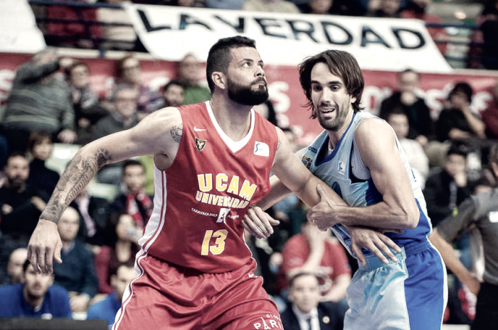 Faverani regresa a Murcia para ser el dueño de la pintura