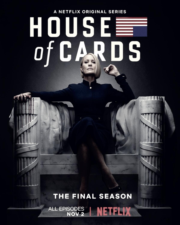 Última temporada de House of Cards já tem data definida para estreia