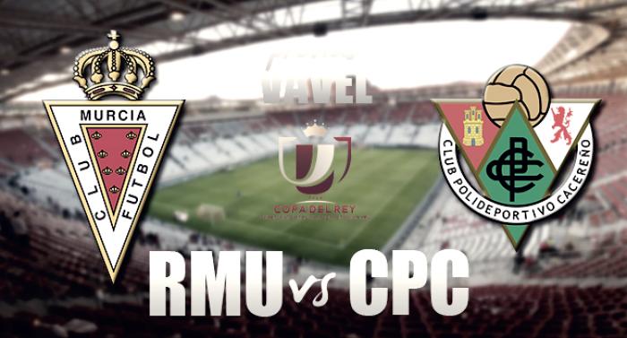Real Murcia - CP Cacereño: Objetivo pasar de ronda