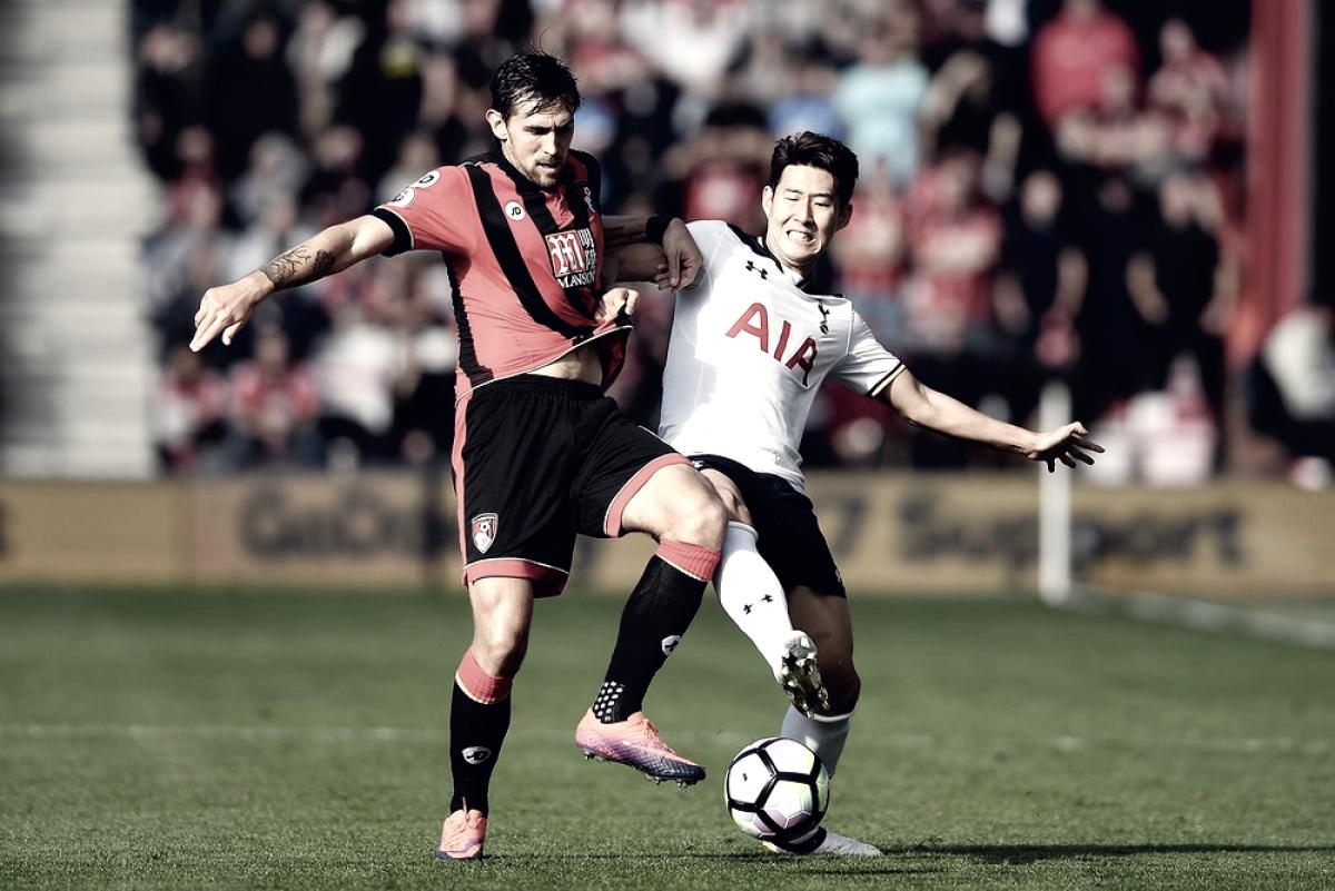 Após frustrante eliminação na Champions League, Tottenham visita Bournemouth