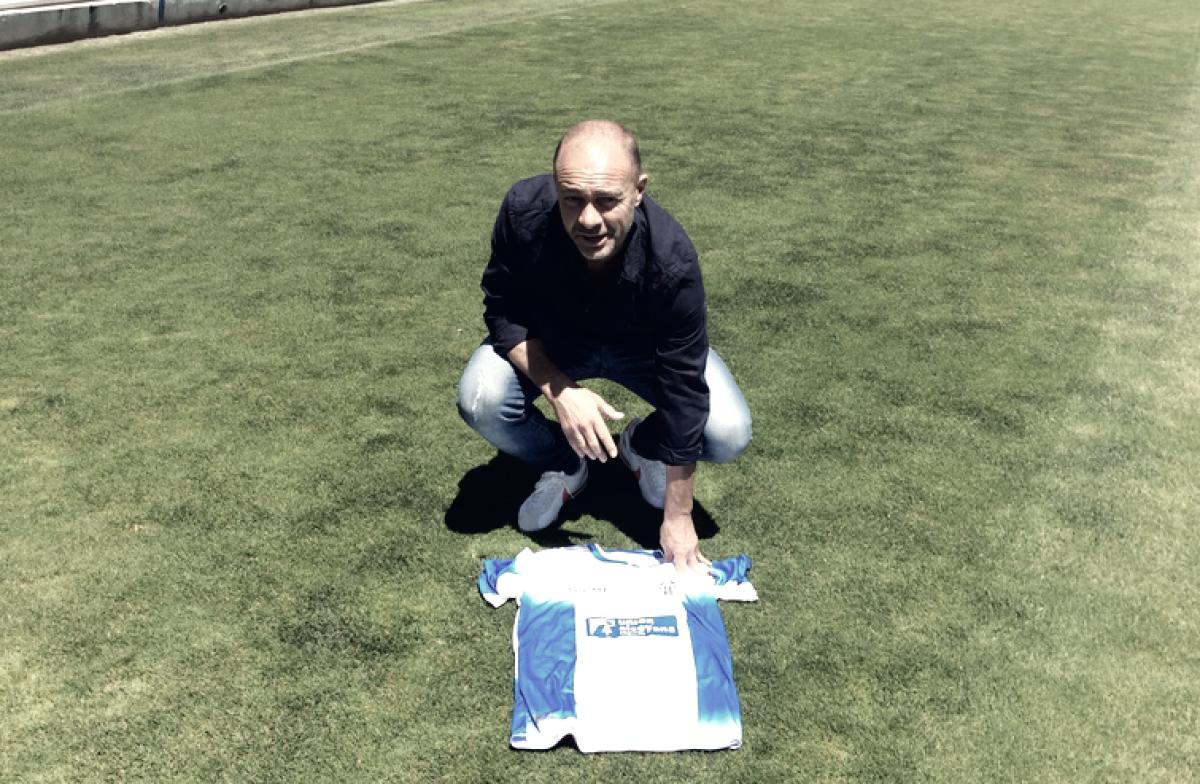 """Vicente Mir: """"Espero hacer las cosas muy bien en el Alcoyano para tocar la Segunda"""""""